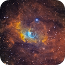 NGC 7635 - The Bubble Nebula in Cassiopeia in SHO,                                CrestwoodSky