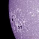 Sole 30 Giugno 2014 Cak NOAA 2104 & 2107,                                Ennio Rainaldi