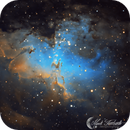 M16 the Eagle Nebula SHO,                                Mark Forteath