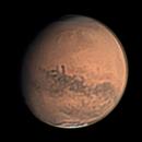 Mars 10 Sep 2018 - Elysium Mons Animation - Nth Up,                                Seb Lukas