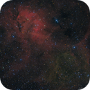 Sh2-132 - An RGB Lion in the Sky,                                Fabian Rodriguez Frustaglia