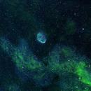 Crescent Nebula,                                andrealuna
