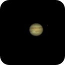 Jupiter, Io (on right) and Europa (on left),                                Kevin Smith