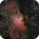 Nebulosa M16 in Serpens Cauda,                                Giuseppe Bertaglia