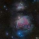 Orion Nebula and Running Man Nebula Mosaic,                                Jarmo Ruuth