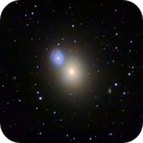 M60 and NGC 4647,                                KuriousGeorge