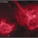 Heart & Soul Nebulae T14 H-apha False Colour,                                Astrogeek