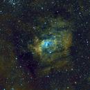 Bubble Nebula in SHO,                                Bob J