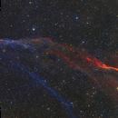 Sh2-91 in HaO3-LRGB,                                equinoxx
