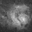 M8 Lagoon Nebula Core and Globules,                                Christopher Schementi
