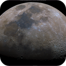 Lunar Disc, Waxing Gibbous, 64% Illuminated, RGB High Saturation, 03-22-2021,                                Martin (Marty) Wise