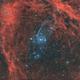 Sh2-129 et ou4,                                astromat89