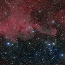 Cometary Globule CG4 LRGBH,                                Tom Peter AKA Astrovetteman