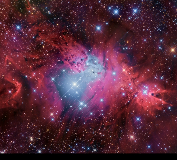 FoxFur NGC 2264 and Cone NGC 2264 Nabulae region,                                Stanislav Volskiy