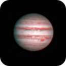 Jupiter with Great Red Spot,                                Pat Darmody