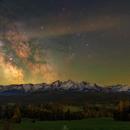 Belianske Tatras and the Milky Way 10/05/2021,                                Łukasz Żak