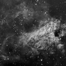 M17 Swam Nebula,                                anunaki