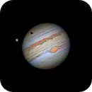 Ganymede with shadow over Jupiter - C8 with ASI1600mmPro,                                subanday