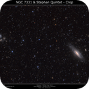 NGC7331 And Stephan Quintet,                                Brice Blanc