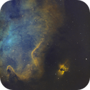 Sh2-201 Nebula Off of the Soul in SHO,                                Douglas J Struble