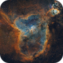 Heart Nebula (IC 1805, Sh2-190),                                Luca Marinelli