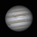 Jupiter animation with GRS February 2016,                                Steve