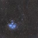 Panstarrs C/2016 R2 & M45 (first light),                                U-ranus