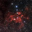 NGC6357 - War and Peace Nebula,                                Geoff Scott