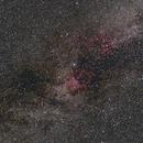 Cygnus Region Widefield (24mm Jul 2017),                                Brent Newton