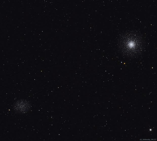 M53 / NGC5053 Globular Clusters,                                Elvie1