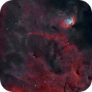 Sh2-101 - Tulip Nebula with Cyg X-1 Bow Shock (Natural Palette),                                Yannick Akar