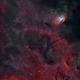 Sh2-101 - Tulip Nebula with Cyg X-1 Bow Shock (Natural Palette),                                Yannick Akar