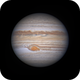Jupiter 2019-05-24: The GRS in turmoil,                                Darren (DMach)