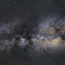 Widefield Milky Way Center (public data pool created by BjoernH),                                Die Launische Diva