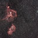 Heart-Soul Nebula and Double Cluster Wide Field,                                Frigeri Massimiliano