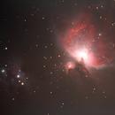 The Orion Nebula,                                Zach Coldebella