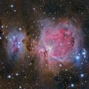 M42 - The Orion Nebula,                                Danh