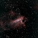 Omega Nebula M17 8/24/2014,                                Tom Masterson