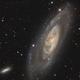 M106 & NGC4248,                                Graeme Coates
