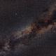Wide Field on summer triangle,                                deufrai