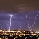 Lightning storm in Brasília - Brazil,                                Rodrigo Andolfato