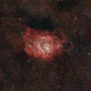 M8 - Lagoon Nebula,                                Cluster One Observatory