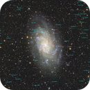 M33 8.2 hours annotated,                                Jim Lafferty