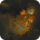 NGC6334: Cat's Paw Nebula (SHO),                                Alexander Voigt