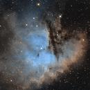 NGC 281 - IC 11 - Sh2-184 -  Pacman Nebula - SHO,                                Andrea Alessandrelli