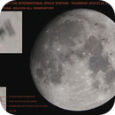 Lunar Transit by the ISS 1-21-2016,                                Michael Southam