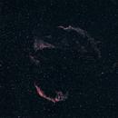 Veil Nebula 200mm 2019,                                Bob Stevenson
