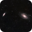 M81 and M82 for my first ever color integration,                                Tony Jerig