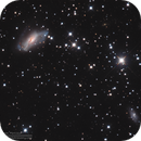 NGC2146 Dusty Hand Galaxy in LRGB,                                Kayron Mercieca