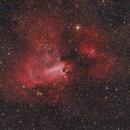 M17 - Omega nebula,                                Jenafan